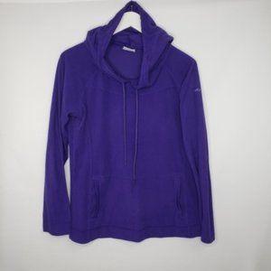 Columbia Sportswear Royal Purple Fleece Pullover